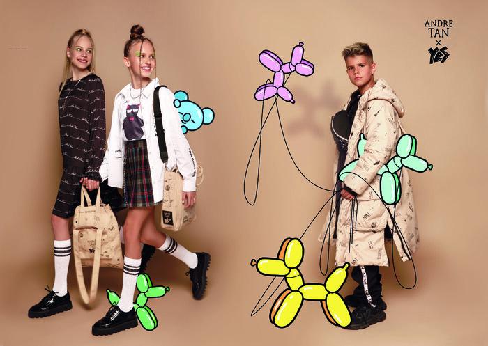 Шкільна мода від бренду Andre TAN Kids
