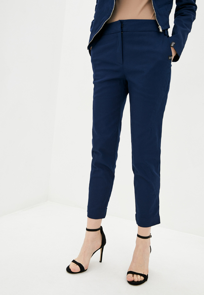 Сині укорочені брюки — 30057P