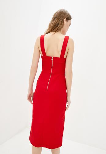 Червона сукня-футляр — 30071P