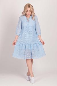Блакитне плаття зі шнурівкою — 30109P