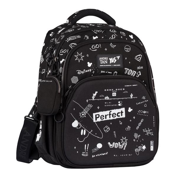 Рюкзак дитячий чорний — 558875
