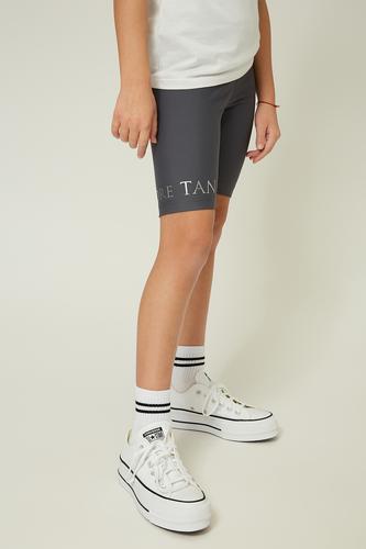 Сірі шорти-велосипедки на дівчинку — K60003