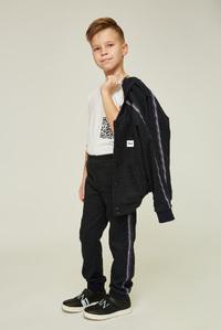Темно-зелені картаті брюки для хлопчика — K60009