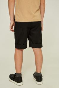 Чорні шорти на хлопчика — K60056