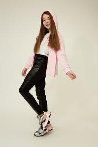 Дитяче рожеве худі для дівчинки — K60058